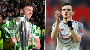 Kieran Tierney Andrew Robertson Celtic Liverpool