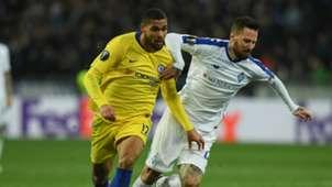 Ruben Loftus-Cheek Tamas Kadar Dynamo Kyiv Chelsea Europa League 2019
