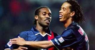 Jay Jay Okocha Ronaldinho PSG