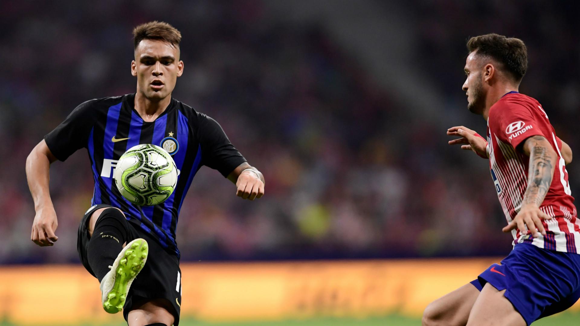 Lautaro Martinez Atletico Madrid Inter ICC 2018