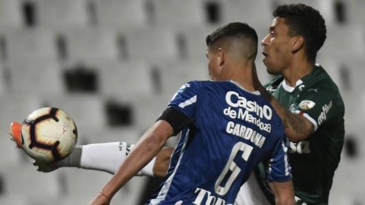 Marcos Rocha Tomas Cardona Godoy Cruz Palmeiras Copa Libertadores 23072019