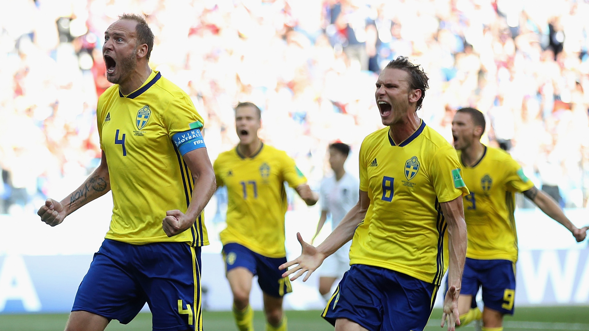Sweden South Korea World Cup 2018