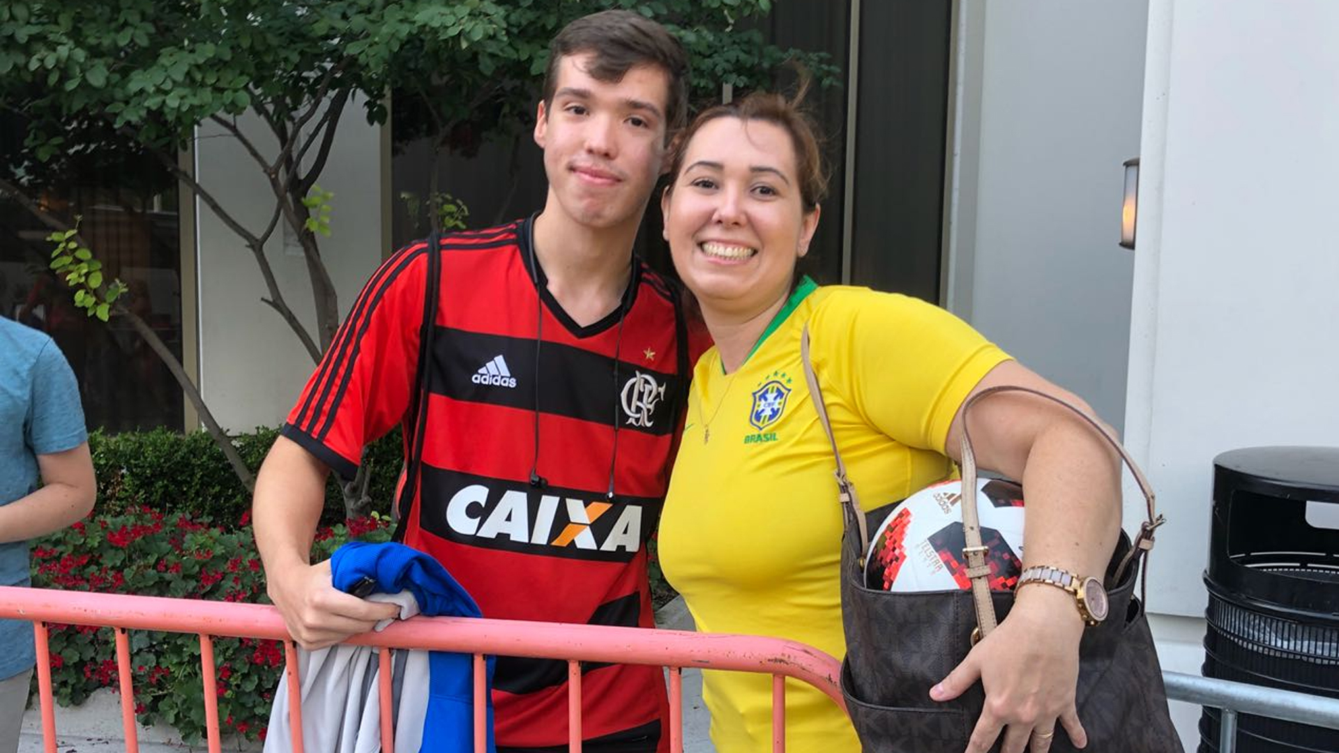 Torcedores Brasil amistoso EUA New Jersey 04 09 18