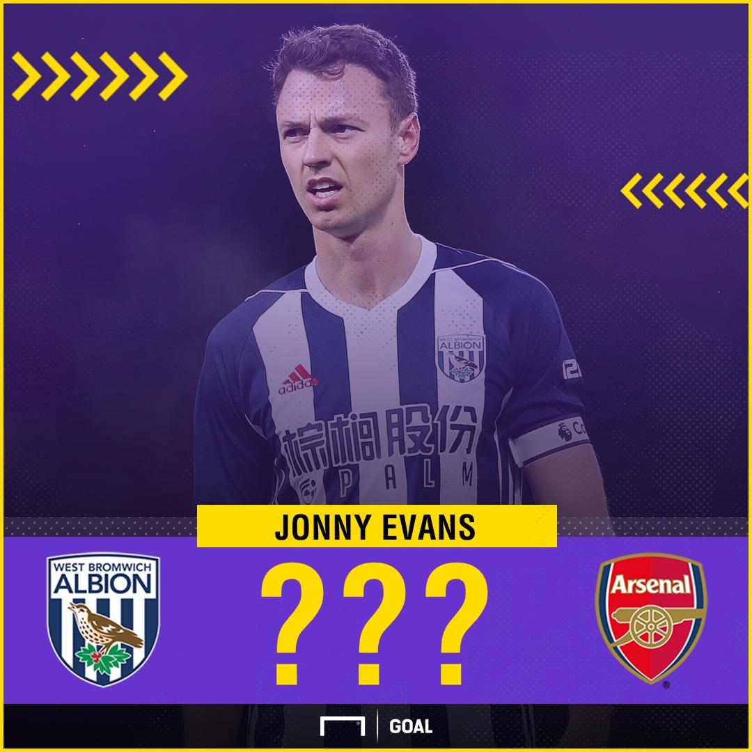 Jonny Evans to Arsenal