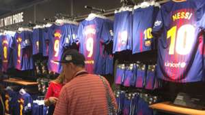 Camp Nou shirts