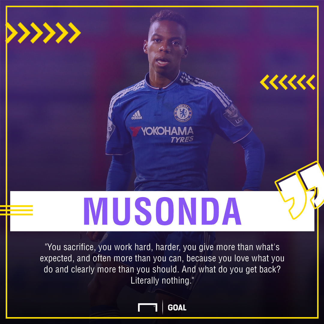 Chelsea boss Antonio Conte: 'Charly Musonda knows his mistake'