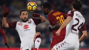Gerson Roma Torino Italian Cup
