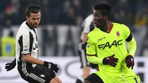 Miralem Pjanic, Godfred Donsah, Juventus, Bologna, Serie A, 01082017