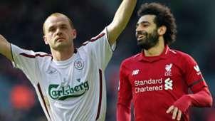 Danny Murphy Mohamed Salah Liverpool