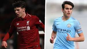 Bobby Duncan Liverpool Eric Garcia Manchester City