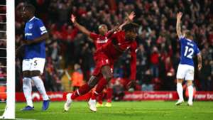 Divock Origi Liverpool vs Everton Premier League 2018-19