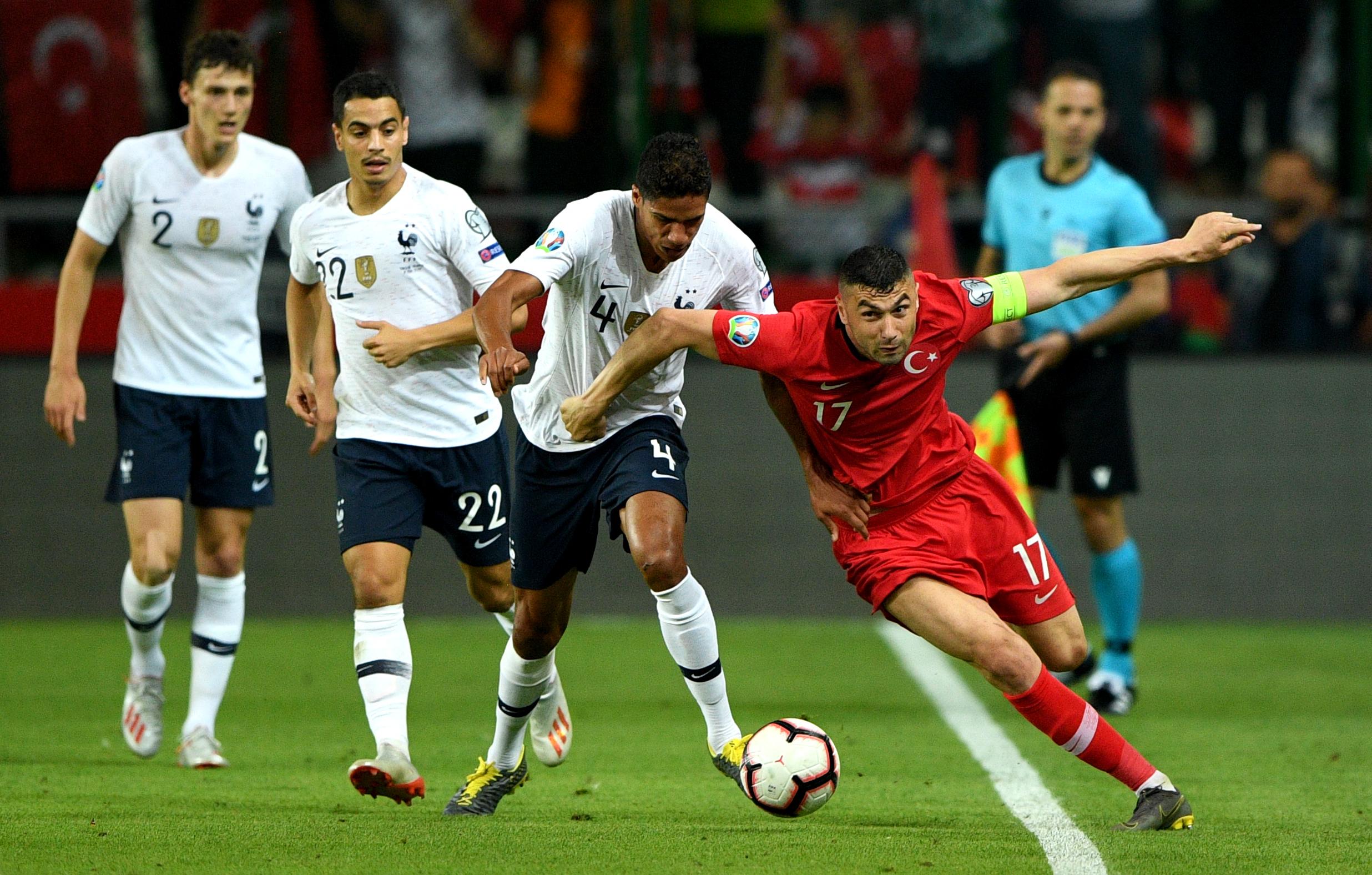 Burak Yilmaz Turkey France UEFA European Qualifications 06/09/19