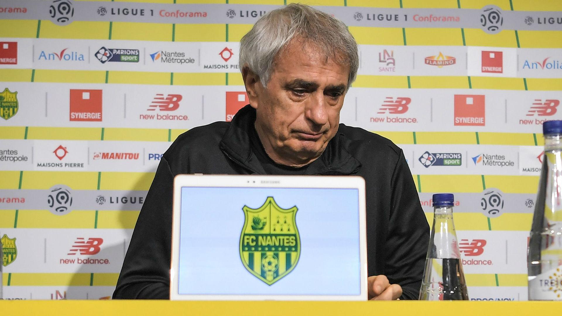 Vahid Halilhodzic Nantes 08 02 2019