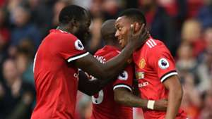 Romelu Lukaku Anthony Martial Manchester United