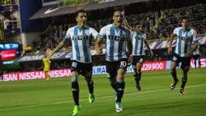 Lautaro Martinez Renzo Saravia Boca Racing Superliga Argentina 19112017