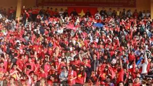 CĐV Việt Nam ở sân Hàng Đẫy