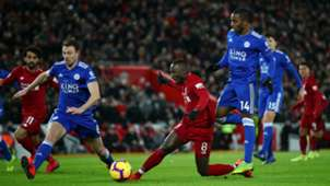 Naby Keita Ricardo Pereira Liverpool Leicester 2018/19