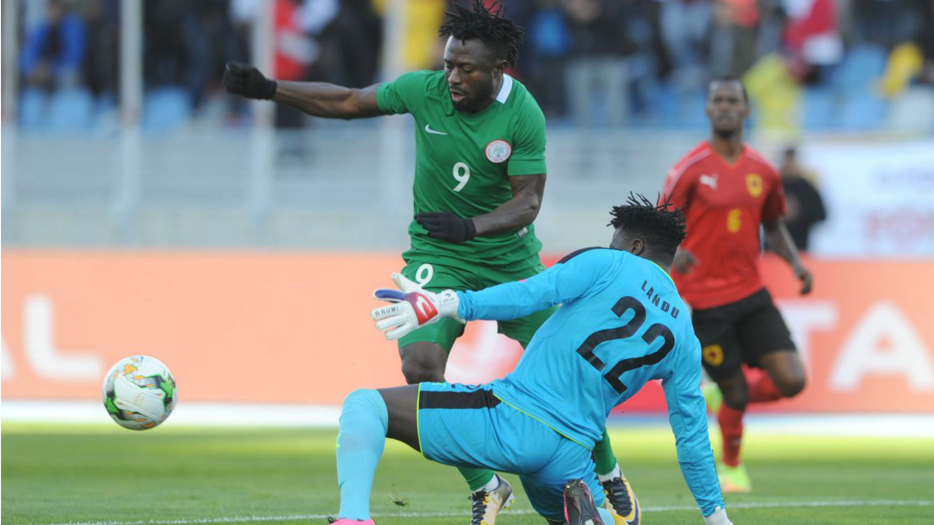 Morocco lead Nigeria by four goals