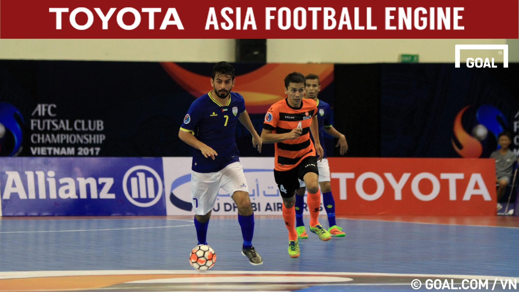 2017 AFC Futsal Club Championship   Erem (Kyrgyzstan) 0-4 Al Dhafra (UAE)