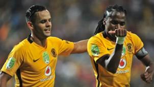 Siphiwe Tshabalala and Gustavo Paez - Kaizer Chiefs