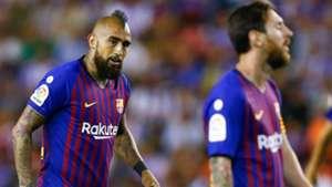 Vidal Messi Barcelona 28 08 2018