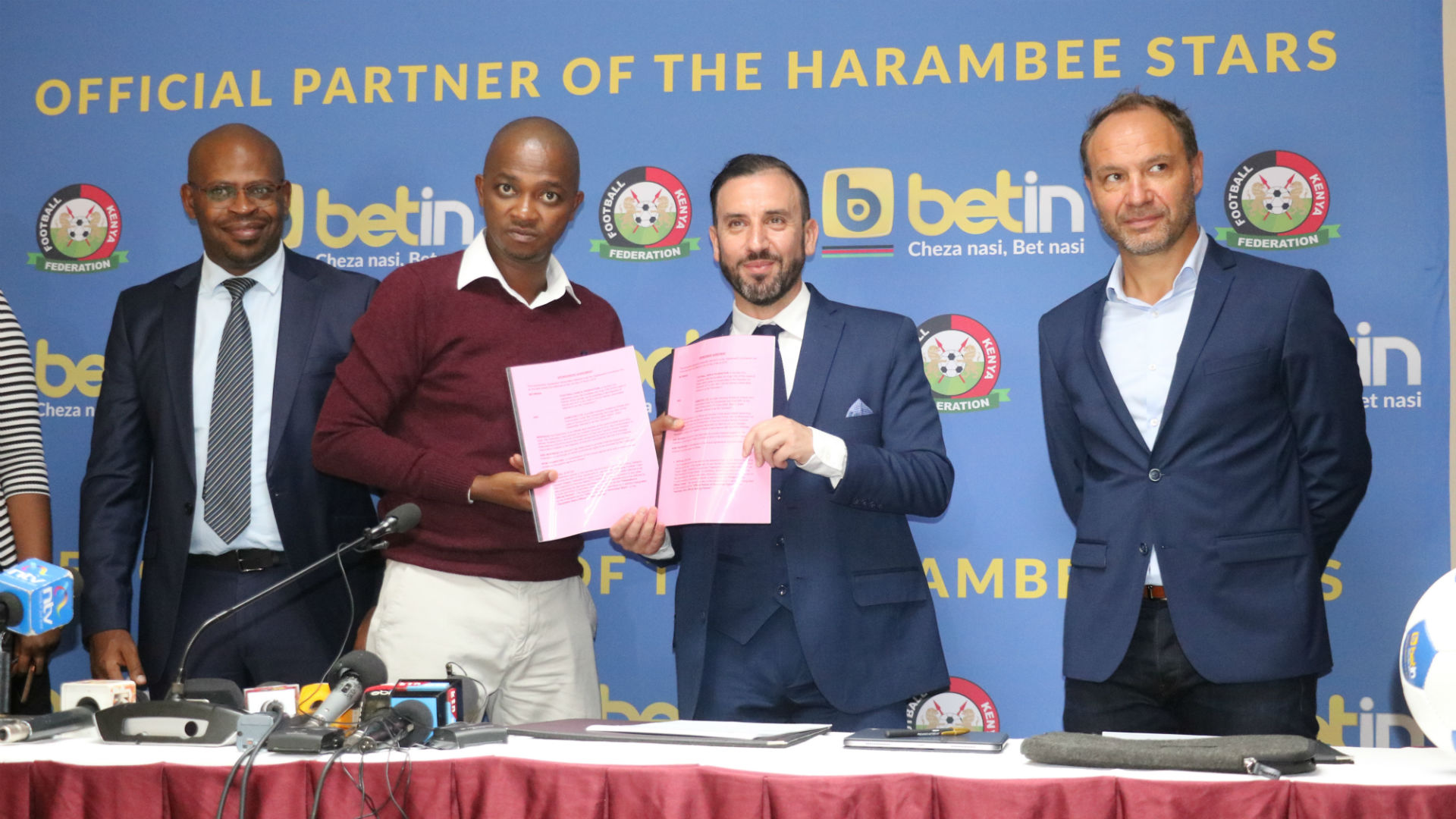 Betin pumps in Sh20m for Harambee Stars ahead of 2019 Afcon finals