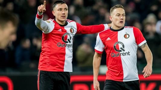 Steven Berghuis, Jens Toornstra, Feyenoord, Eredivisie 02082018