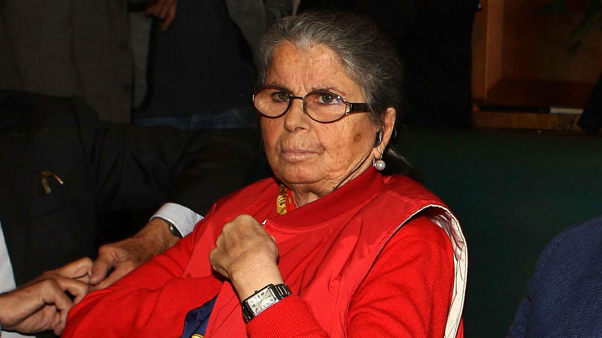 Lutto nel mondo Roma: è morta Maria Sensi, moglie del presidente Franco