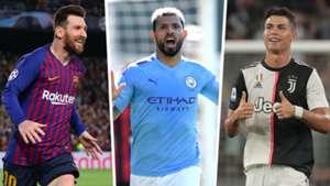 Goal machine Aguero could post Messi and Ronaldo-like numbers this season