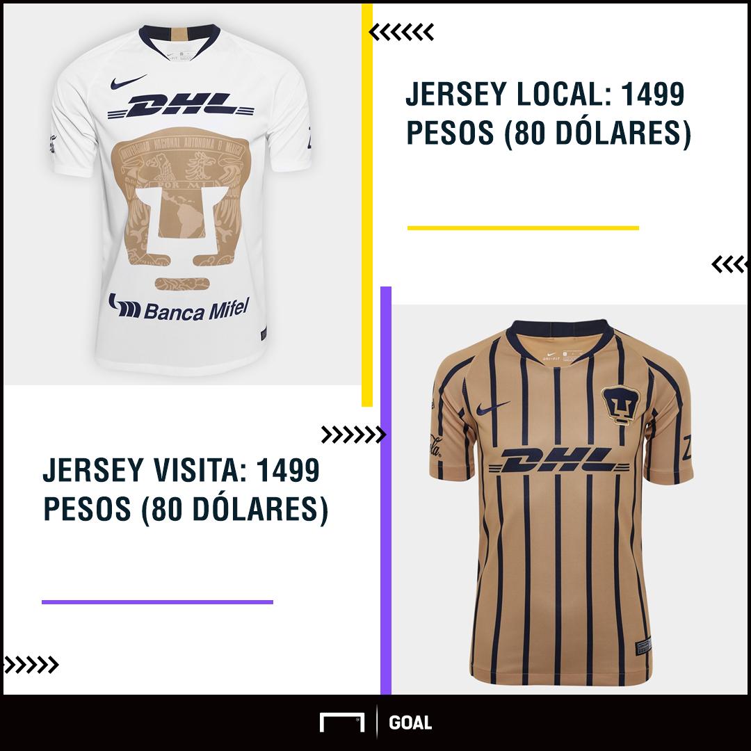Pumas uniformes Apertura 2018
