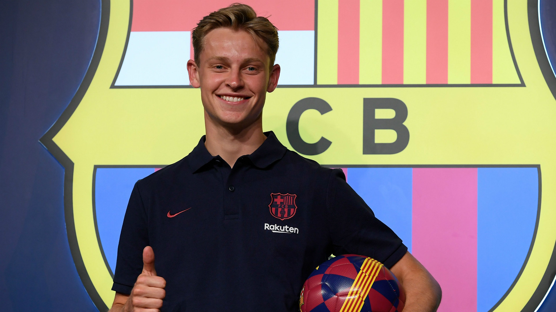 Barcelona recruit De Jong hopes for De Ligt reunion at Nou Camp
