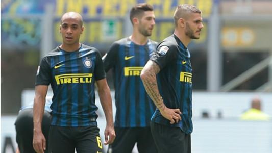Mauro Icardi Joao Mario Inter Sassuolo Serie A