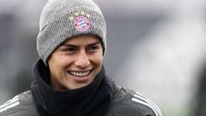 James Rodriguez FC Bayern München