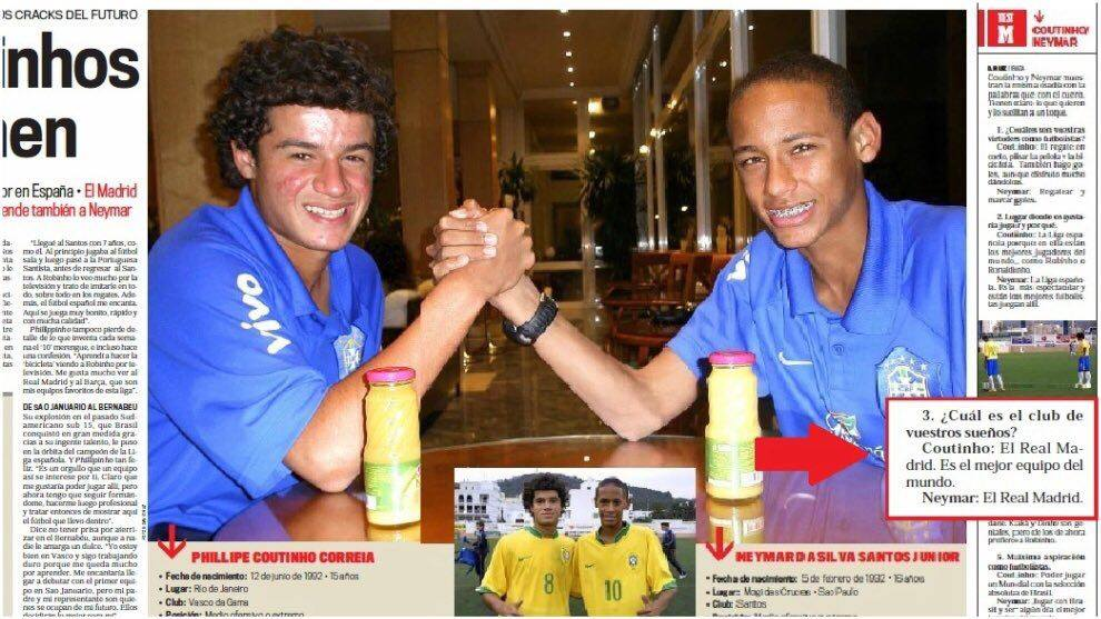 neymar & coutinho