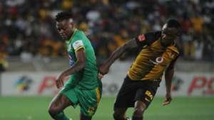 Richard Matloga and Tsepo Masilela - Baroka v Kaizer Chiefs