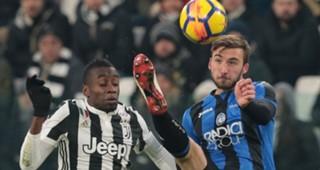 Blaise Matuidi Bryan Cristante Juventus Atalanta Coppa Italia