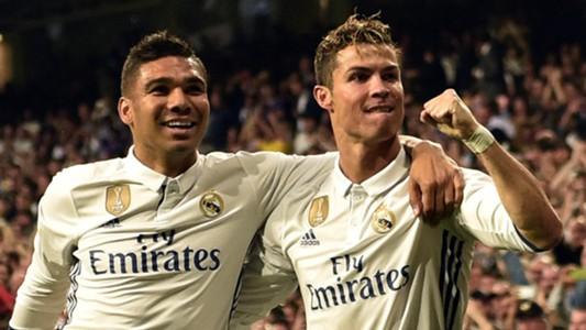 Casemiro Cristiano Ronaldo Real Madrid