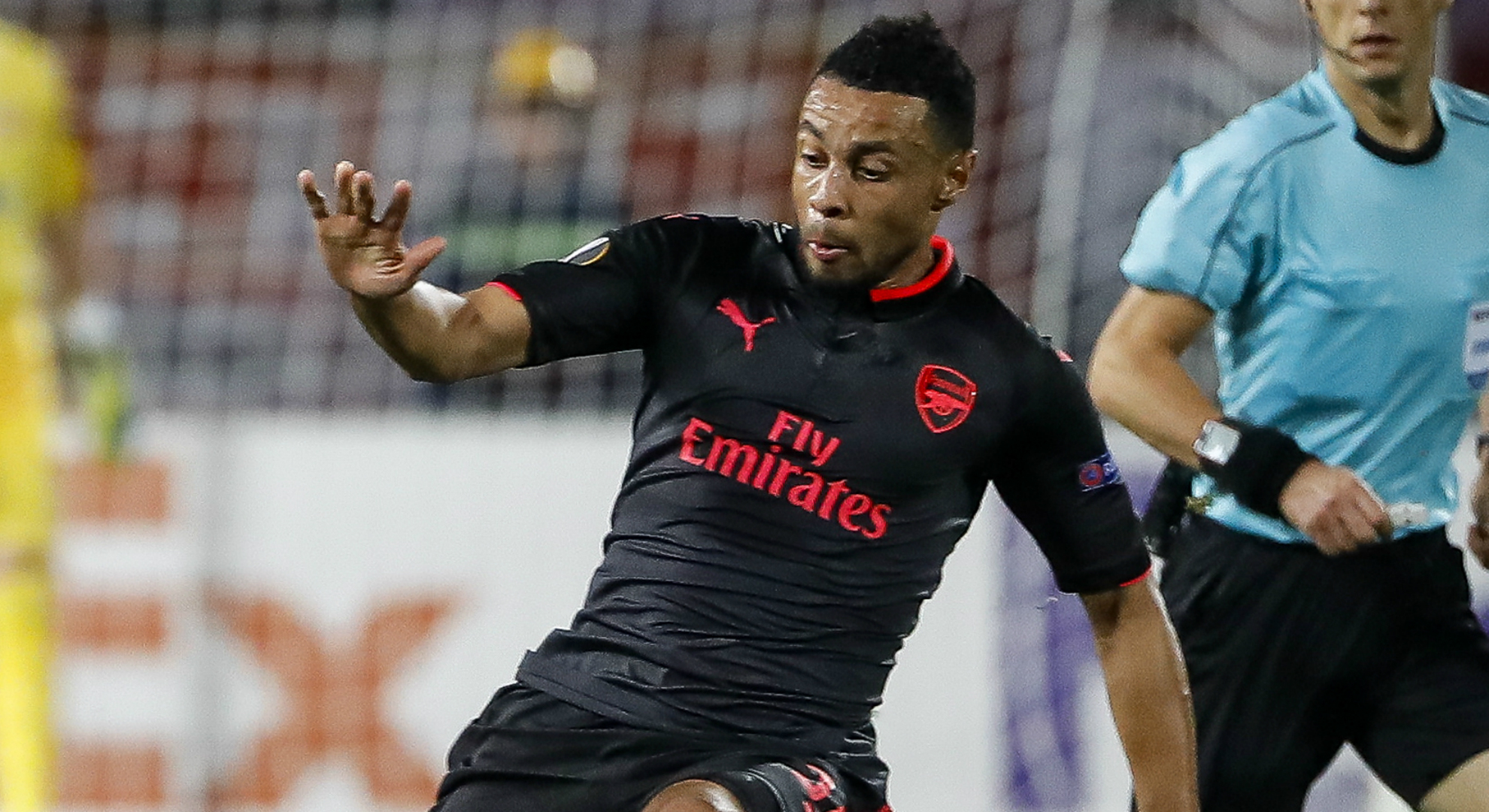 Francis Coquelin Arsenal Crystal Palace