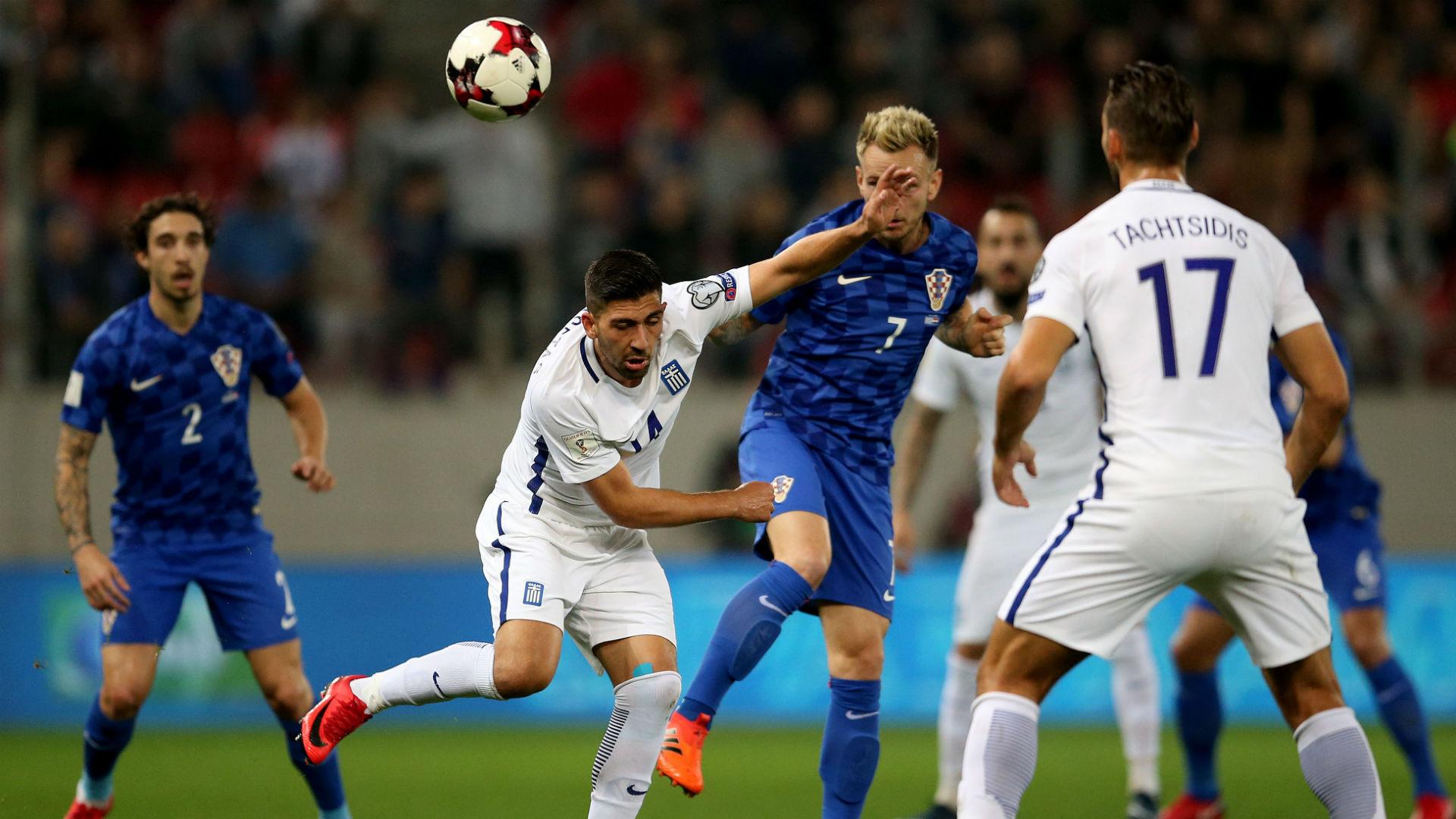 Greece Croatia Rakitic WC qualification 12112017