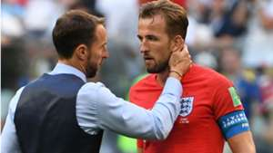 Southgate Harry Kane Inglaterra Copa do Mundo 14 07 2018