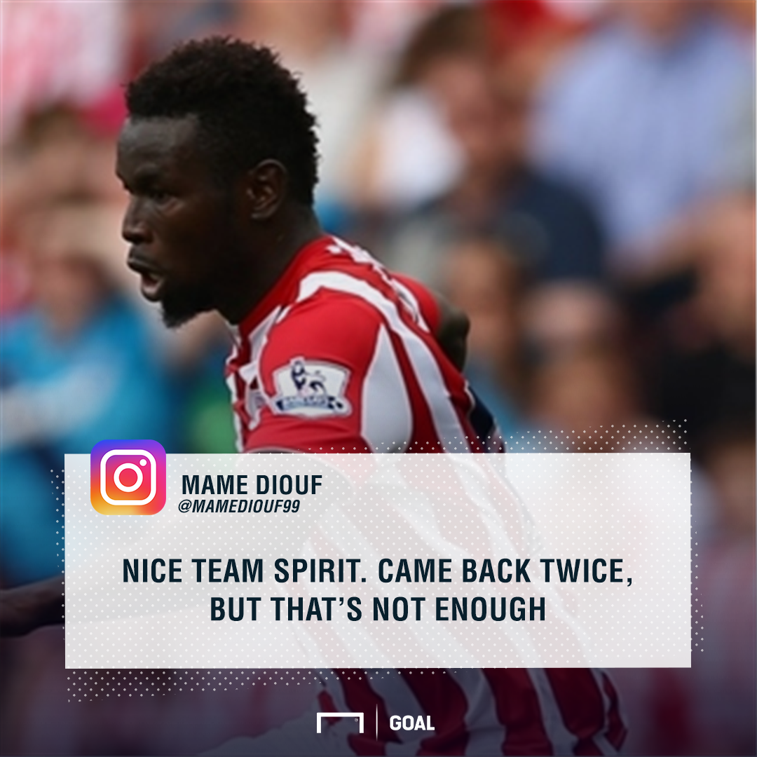 Diouf - Stoke v Leicester PS
