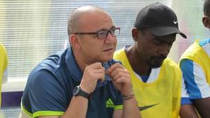 Nakumatt coach Mellis Medo.