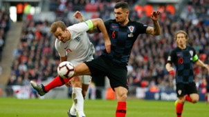england croatia - dejan lovren harry kane - uefa nations league - 18112018