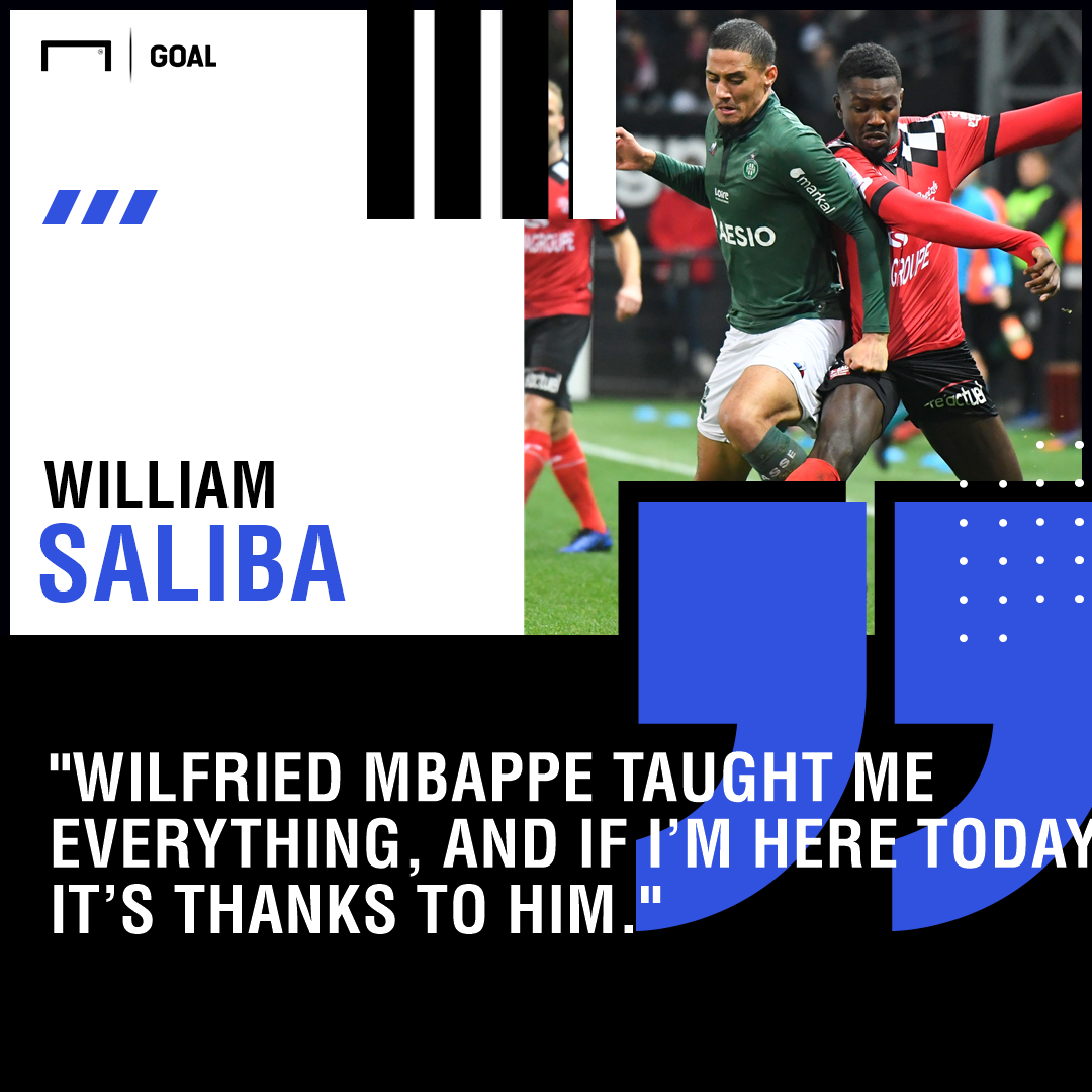 William Saliba GFX