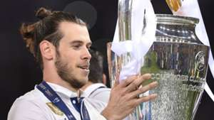 Gareth Bale Real Madrid Champions League trophy