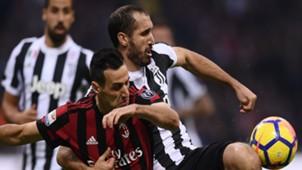 Nikola Kalinic Giorgio Chiellini Milan Juventus