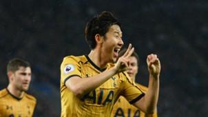Heung Min Son Tottenham Leicester
