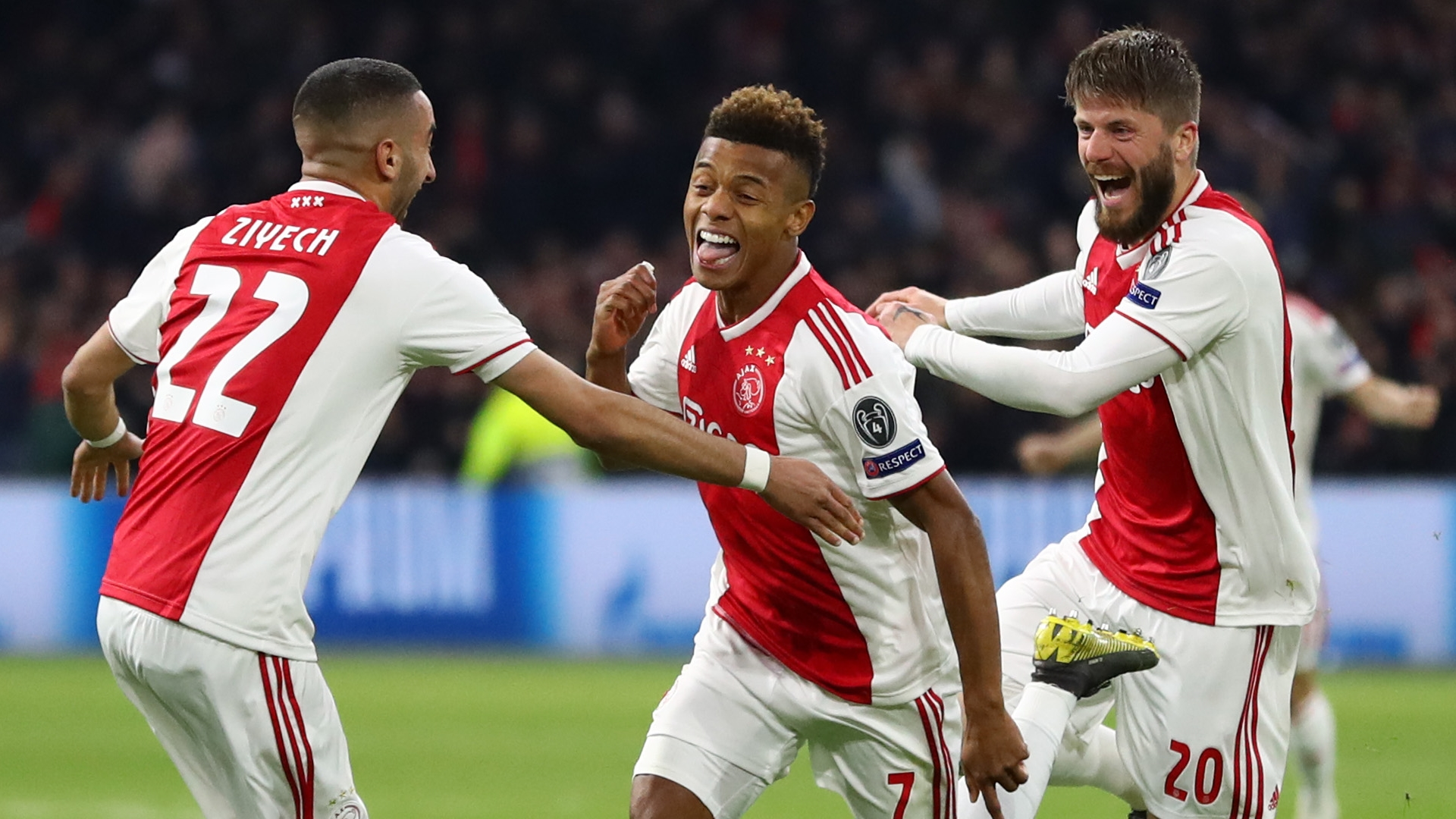 David Neres, Ajax vs Juventus, UCL 2018-19