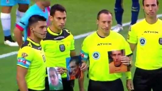 CAPTURA arbitros Boca Arsenal 031217