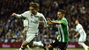 Luka Modric Real Madrid 2017